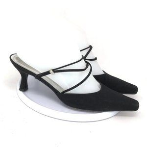 Stuart Weitzman Womens Strap Slide Heels Size 7.5